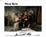 Bernard Kay  and Morris Perry DOCTOR WHO Genuine Signed Autograph 10 x 8 COA 476